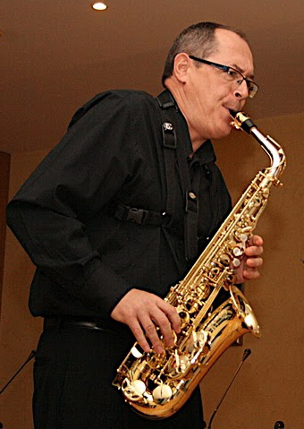 Antonio Mateu, saxofonista.