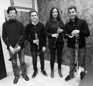 Cuarteto de Clarinetes